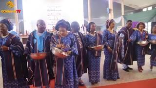 BURIAL CEREMOMY OF OLOTU OMOBA ADERONLE OLUKOYA AT AGO-IWOYE (Nigerian Music & Entertainment)