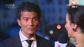 مهرجان الجونة السينمائي - لقاء مع الفنان خالد النبوي