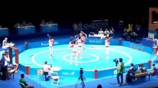 Zurkhaneh. İran team. Baku2017