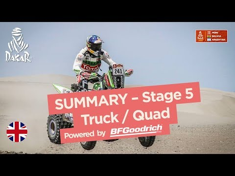 Xxx Mp4 Summary Truck Quad SxS Stage 5 San Juan De Marcona Arequipa Dakar 2018 3gp Sex