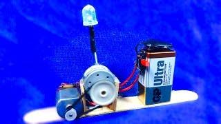 DIY Dynamo Generator - How to make a generator