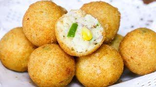 Italian Party Balls   Italian Snacks Recipe   Tasty Party Appetizers   Kanak's Kitchen