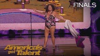 Vicki Barbolak Comedian Transforms Finale Into Swimsuit Contest   America