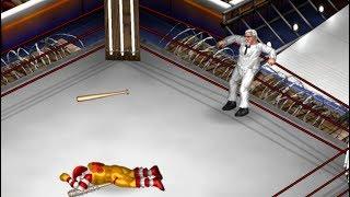 Fire Pro Wrestling World - Ronald McDonald vs Col Sanders [Celebrity Deathmatch Tournament Round 1]