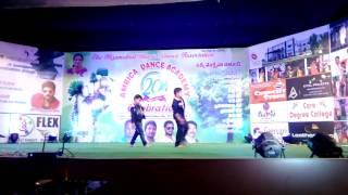 Sarainodu Title Song Dance Performance By Karthik Dance Academy Students  Kamareddy