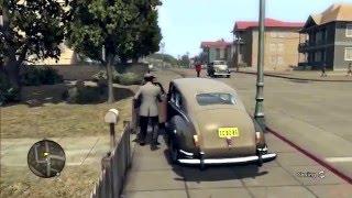 SBB: Alex Crashes into Shit in LA:Noire PART 1