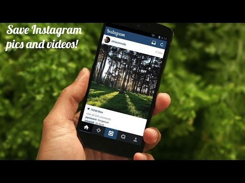 How to Save Instagram Photos and Videos on Android!