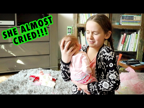 Real Reborn Baby Unboxing Madison Gets a LIFELIKE Reborn BABY Doll