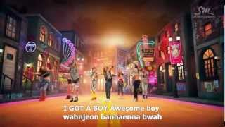 [OLD] Girls' Generation 소녀시대_I GOT A BOY Lyrics Video