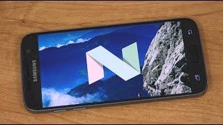 Samsung Galaxy S7 Android 7.0 Nougat Beta!
