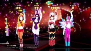 Just Dance 2014 Wii U Gameplay - Nicki Minaj: Pound the alarm