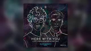 Lost Frequencies & Netsky - Here With You (Bassjackers Remix) [Cover Art] [Ultra Music]