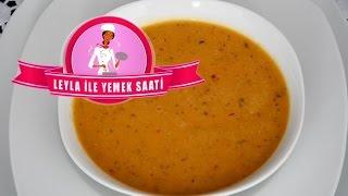 Kremalı Mercimek Çorbası - Cremige Linsensuppe