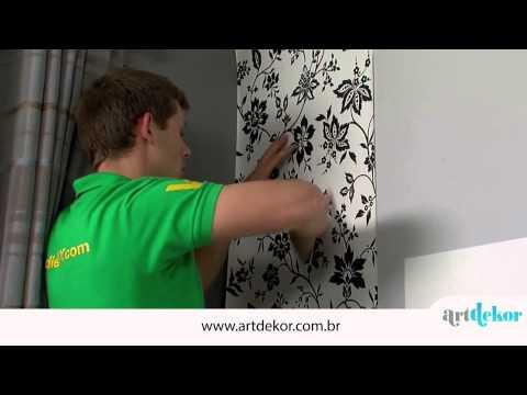 Como aplicar papel de parede - ArtDekor