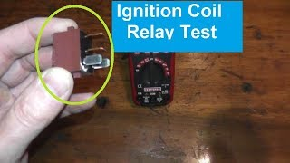 Ignition Coil Relay | How to Test and Replace