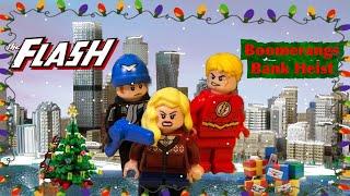 Lego Flash Boomerang's Bank Heist Ep.4 (Christmas Special)