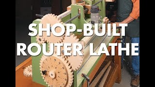 Turn Amazing Table Legs with this Shop-Built Router Lathe!