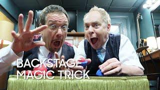 Backstage Magic Trick: Penn & Teller Return!