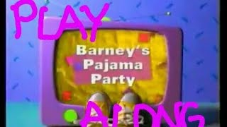 Barney's Pajama Party Play Along LIVE STREAM w/ PJS! 🔴