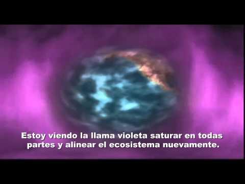 Cómo usar la Llama Violeta diariamente Mantra de Saint Germain
