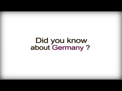 watch Did you know? - Germany - German Business Culture video