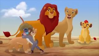 The Lion Guard The Rise Of Scar - Makini Meets The Royal Family Scene [HD]