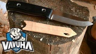Нож TRC Bushcraft ELMAX. Обзор и тест. Часть 1.