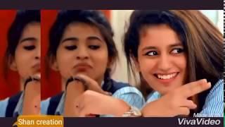 Oru addar love ankhiyon se goli mare song by Priya prakash varrier