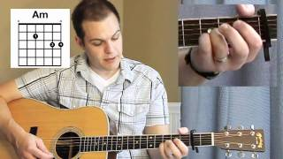 Our God Tutorial (Chris Tomlin, Matt Redman) - with Chord Chart