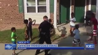 Durham cop shows some kids a thing or two about dancing