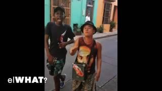 Colombian freestyle rap