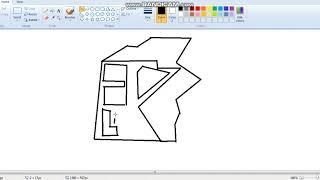 How to draw kwebbelkop logo