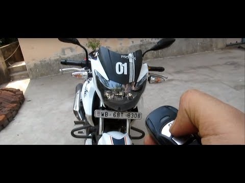 CENTRAL LOCKING SYSTEM FOR BIKE   ALL FEATURES   RTR 160   ALL BIKES