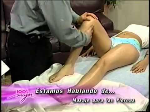 clases masajes PIERNAS CANSADAS