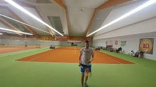 144 ROSENHOF darek CUP. Masters Final(p.1)T.GÓRA vs P.RÓŻAŁOWSKI 6/2 3/6 10/8