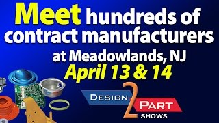 Meet Contract Manufacturing Companies- Meadowlands, NJ - D2P tradeshow