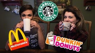 Can We Guess Different Brands of Coffee??? w/ Lacey