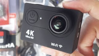 4K Sports Camera with Remote - 12MP - Waterproof (30M) - by NexGadget