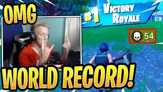 Tfue Breaks *WORLD RECORD* Kills with FaZe Clan Team - Fortnite Best and Funny Moments