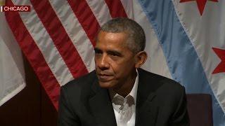 Watch: Former President Obama