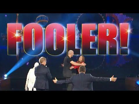 Raffaele Scircoli fools penn and Teller Fool us Crazy mentalism puppet act
