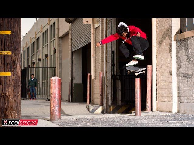 Na-Kel Smith   X Games Real Street 2017