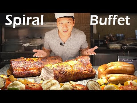 LEGENDARY All You Can Eat Buffet in Manila Philippines Spiral Buffet Review