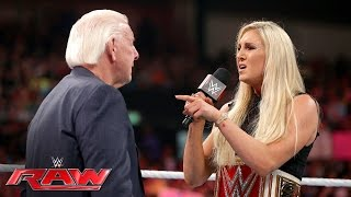Charlotte wants nothing to do with her father Ric Flair: Raw, May 23, 2016