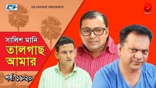 Shalish Mani Tal Gach Amar | Episode 16-20 | Bangla Comedy Natok | Siddiq | Ahona | Mir Sabbir