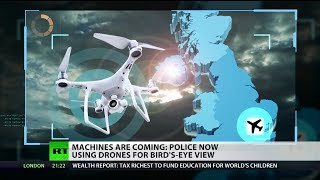 Machines are coming: Police now using drones for bird