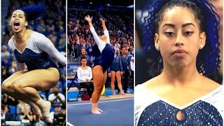 Sophina DeJesus Hip Hop Gymnastics Floor routine at UCLA 2016