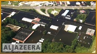 🇺🇸 Hurricane Florence aftermath: Pollution spills into waterways l Al Jazeera English