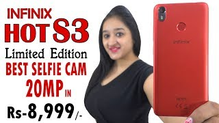 Infinix Hot S3 Limited RED Edition - Best SELFIE Phone Under 10000