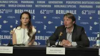 A Royal Affair | press conference pt. 2 (2012) Berlinale 2012